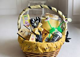utah themed gift basket ice cream maker all needed to make a sundae honey ice cream recipes yellow and black bee themed