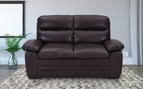 royaloak brio two seater air leather sofa