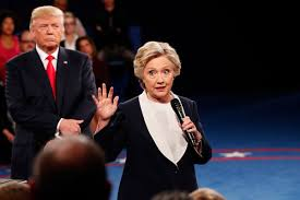 Image result for hillary clinton/donald trump