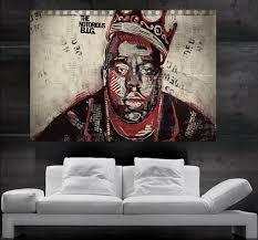 the notorious b i g biggie or biggie smalls american rapper hip hop rap poster print wall art 8 parts no86 free pc wallpapers free phone wallpaper from  on big print wall art with the notorious b i g biggie or biggie smalls american rapper hip