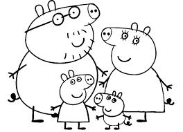 I Disegni Da Colorare Di Peppa Pig Fredrotgans
