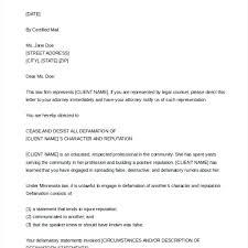 cease and desist letter template defamation trademark harment uk