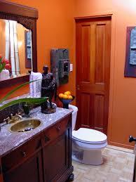 Orange Paint For Living Room Kitchen Modern Interior Light Brown Wall Color Design Ideas