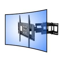 Tv wall mouns Shelves Loctek Curved Panel Tv Wall Mount Bracket For 32 In 65 In Uhd Home Depot Loctek Curved Panel Tv Wall Mount Bracket For 32 In 65 In Uhd