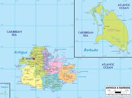 large political and administrative map of antigua and barbuda with Antigua Airport Map large political and administrative map of antigua and barbuda with roads, cities and airports antigua airport terminal map