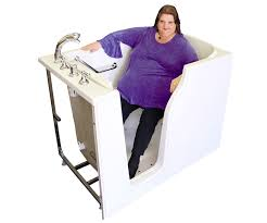 bliss tubs extra wide walk in tub for larger bathers