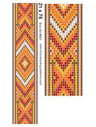 Seed Bead Loom Patterns