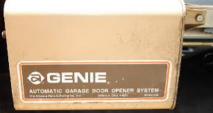 genie garage doorsGarage Door Opener Historical Archive  AUTOMATIC Garage Door Services