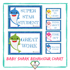 Teacher Resource Baby Shark Behaviour Chart The Teacher Hero