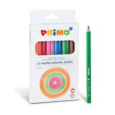Bo Te De 12 Crayons De Couleurs Jumbo Primo Pour Enfant De 3 Ans 8