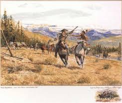 Free trappers by Byron Wolfe on artnet