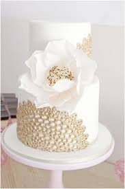top 22 glittery gold wedding cakes for 2016 trends