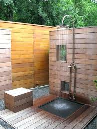 shower heads outdoor shower heads stainless steel wide options of fixture minimalist space with horizontal