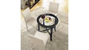 dining tables crate and barrel round dining table pottery barn dining tables glass board table