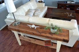 Outstanding DIY Sofa Table Choices Homeideasblogcom