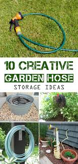 10 creative garden hose storage ideas jpg