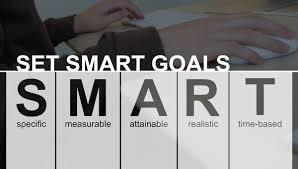 new year new career keep your job search at a five star rating set smart goals specific measurable attainable realistic and time based