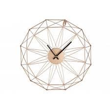 Copper wire clock