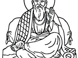 St Francis Coloring Page Zupa Miljevcicom