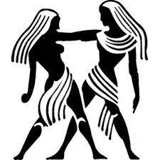 Tetování Znamení Zvěrokruhu Blíženci