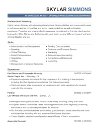 Best Part Owner And Corporate Attorney Resumes Resumehelp