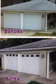 Faux Garage Door Windows Faux Garage Door Windows Beforesandafters