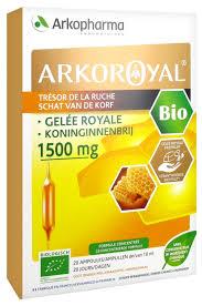 Arkopharma Arko Royal Treasure of the Hive <b>Royal Jelly 1500mg</b> ...