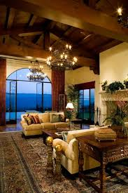 Mediterranean Living Room Design, Pictures, Remodel, Decor and Ideas -  pretty Chandelier