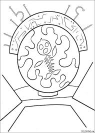 Small Picture Coloring page Chicken Little fish skeleton Coloringme