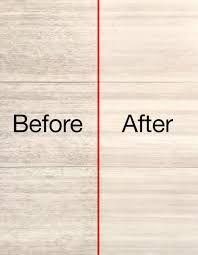 dirt trapped in textured areas of luxury vinyl floor is removed floor is left sparkling clean