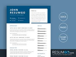 What Is Needed For A Modern Resume Free No Photo Resume Templates Resumgo Com