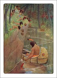 best the song of hiawatha images henry wadsworth the story of hiawatha adapted from longfellow the original poem published 1910