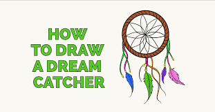 Dream Catcher Worksheet Classy How To Draw A Dream Catcher Really Easy Drawing Tutorial