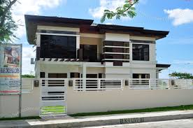 Modern House Design Two Storey PE09265 Square Meters 2852 Two Storey Modern House Designs