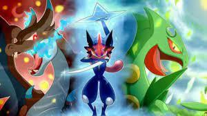Pokemon Hintergrund Asche Greninja - Asche Greninja Tapete - 1280x720 -  WallpaperTip