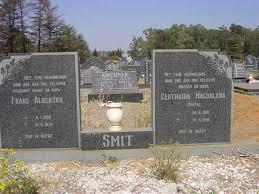 SMIT Frans Albertus 1905-1978 & Gertruida Magdalena SMITH 1915-1998