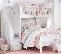 loft beds for kids pottery barn. Fine Kids Fillmore Stair Loft Bed To Beds For Kids Pottery Barn T