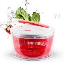 Salad Spinner Trái Cây Rau Máy Sấy Nhanh Khô Thiết Kế Sạch Giỏ Salad  Spinner với Dễ Dàng Quay Ráp Khóa Xử Lý|Dụng Cụ Trái Cây & Rau Củ Khác