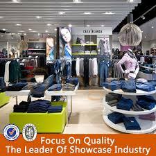 new design men garments shop decoration