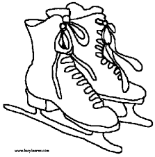 Small Picture roller skate coloring page pages s click the penguin ice skating