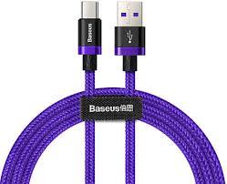Кабель <b>Baseus</b> Purple Gold Red <b>HW flash</b> charge cable USB For ...