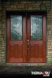 fiberglass double entry doors with glass fiber classic mahogany collection fiberglass doors featuring deep mahogany double fiberglass double entry doors