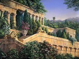 Висячие сады Семирамиды легенды факты история Очевидное  Одно из 7 чудес света сады Семирамиды