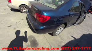 2003 Toyota Corolla Parts For Sale - 1 Year Warranty - YouTube
