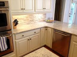 Granite With Backsplash Gorgeous Smartwhitecabinetsstonebacksplashrpictureselegant
