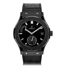 mens ceramic watches the watch gallery hublot classic fusion black ceramic mens watch 516 cm 1440 lr