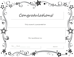 Congratulations Certificate Congratulations Certificate Word Template Best Templates Ideas 4