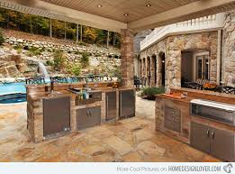 Awesome Contemporary Outdoor Kitchen Designs   Home Design LoverJacuzzi