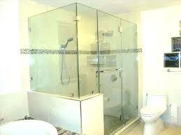 glass shower door installation cost glass shower enclosure cost seamless shower shower enclosure shower door fin