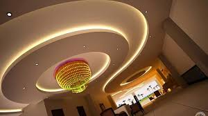 simple modern round ceiling designs